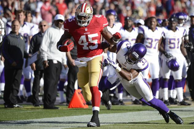 49ers' Brandon Jacobs Frustrated in San Francisco?
