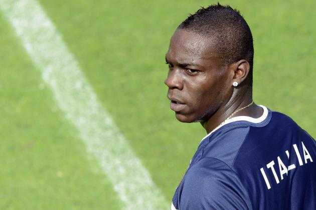 Manchester City Star Mario Balotelli Labelled 'mediocre' by Zlatan Ibrahimovic
