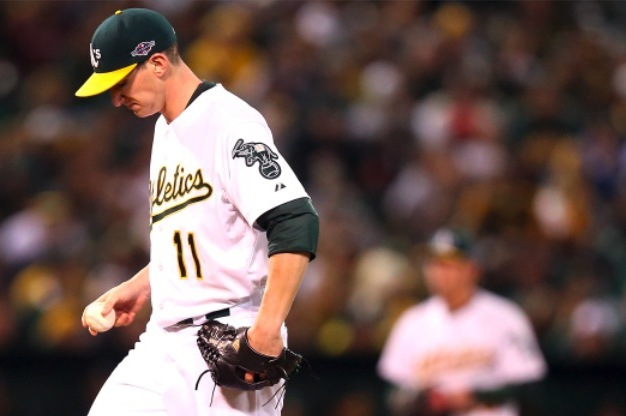 Oakland A's, Jarrod Parker Come Up Short in Game 5, but Future Still Very Bright