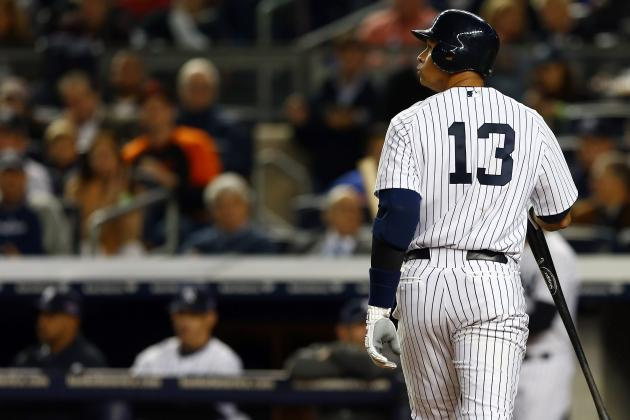 Alex Rodriguez and the Yankees Are Already Showing Their Age in 2012 Playoffs