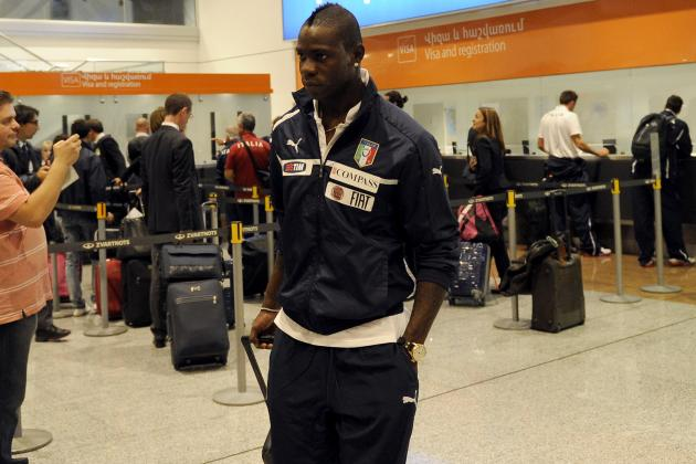 Mario Balotelli to Miss Italy-Armenia with Fever