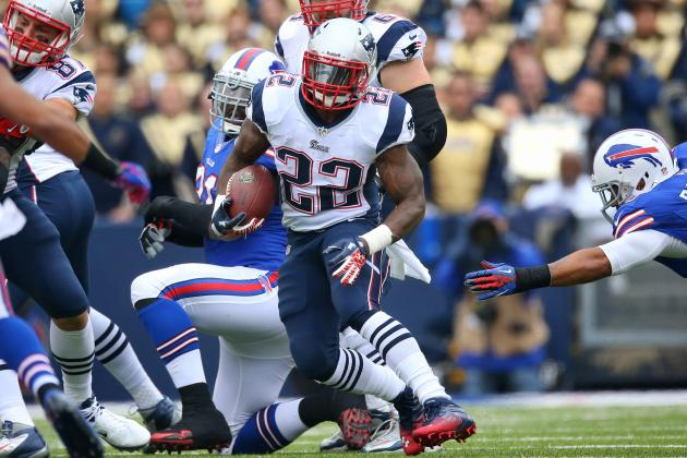 Stevan Ridley Needs to Hold on