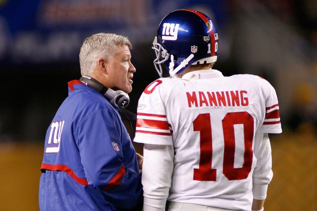 Gilbride Not Worried About Ex-Giants Sharing Secrets of Offense with 49ers