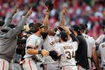 Giants Complete Historic Comeback, Advance to NLCS