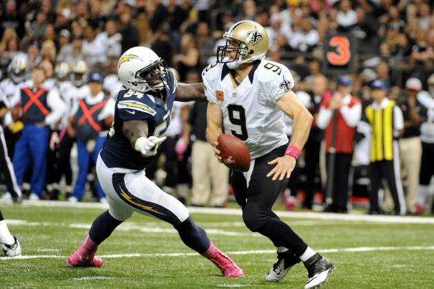 Melvin Ingram Fined $15K for Hit on Drew Brees