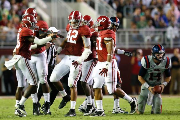 Alabama Football: Crimson Tide Will Post 3rd Shutout of 2012 vs. Mizzou