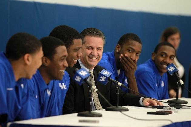 Could John Calipari Recruit Too Much Talent on One Kentucky Team?