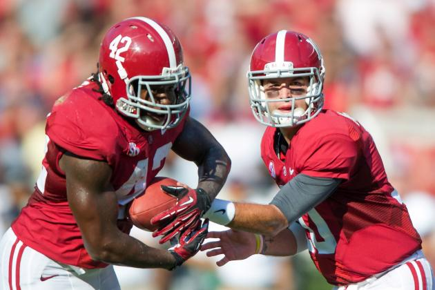 Alabama vs. Missouri: Do Crimson Tide Need to Change Offensive Focus?