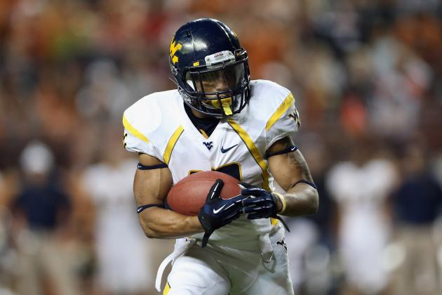 WVU RB Buie Can't Wait for Next Chance