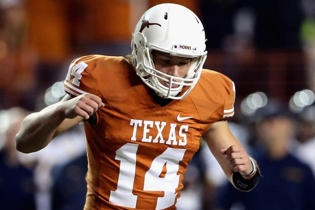Texas QB David Ash Exceeding ExpcCtations