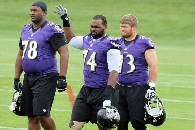 Don't Expect Major Changes Yet on Ravens' Offensive Line