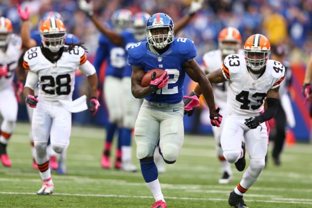 David Wilson: Will Giants Rookie RB Be a Fantasy Gem with Andre Brown Sidelined?