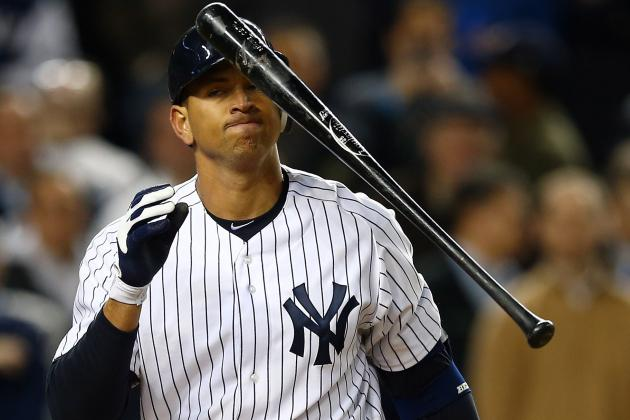 Yankees Bench Struggling Alex Rodriguez for Game 5 of ALDS