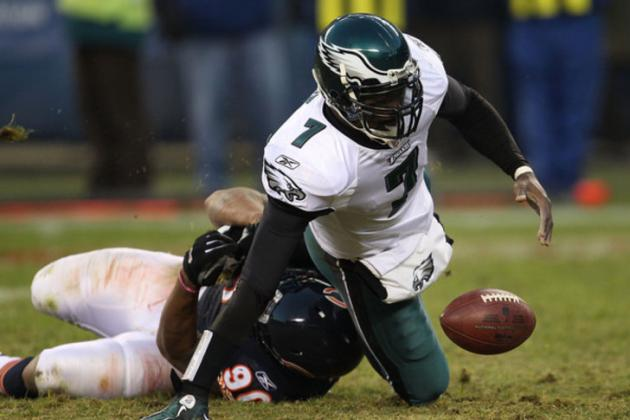 Michael Vick Carried Football Around Eagles Facility