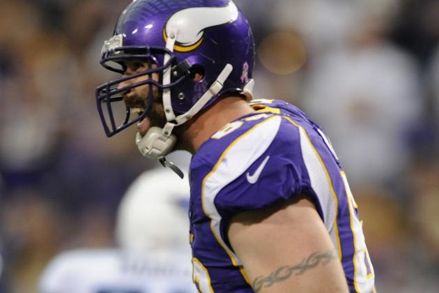 Jared Allen Says His Knee Is as Valuable as Tom Brady's