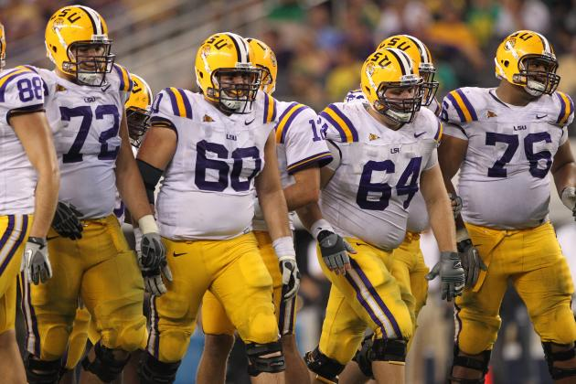 LSU Football: Offensive Line Questions Come at Worst Possible Time vs. Gamecocks