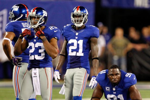 Giants' Hakeem Nicks, David Diehl, Corey Webster Listed as Questionable