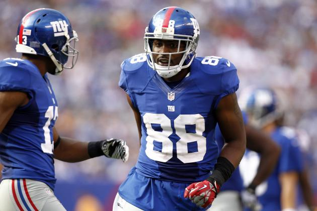 Giants List WR Hakeem Nicks as 'Questionable' for Sunday