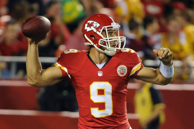 Matt Cassel Injury: How Chiefs Must Approach Buccaneers with Brady Quinn