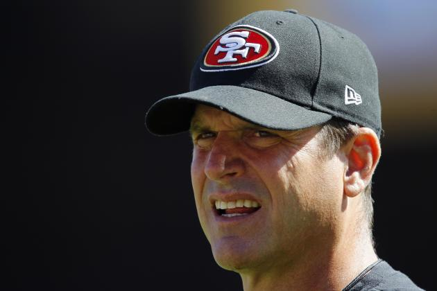 Harbaugh Reacts Strongly to Gilbride's Comments