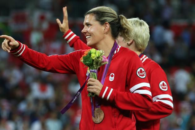 Christine Sinclair Suspended Four Games for Olympic Incident