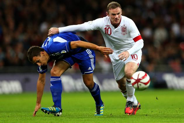 Wayne Rooney Relishes New Role as England Top San Marino in World Cup Qualifier