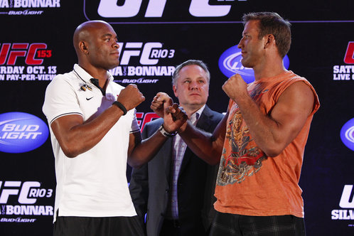 UFC 153 Weigh-in Results: Silva, Bonnar Make Weight