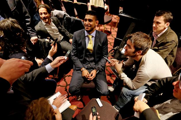Amir Khan and Kell Brook's Trash Talking Leads to Negotiations for a 2013 Fight