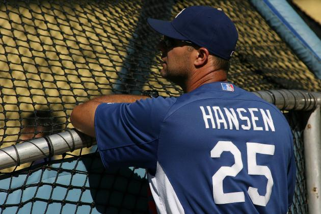 Dodgers Dismiss Hitting Coach Dave Hansen