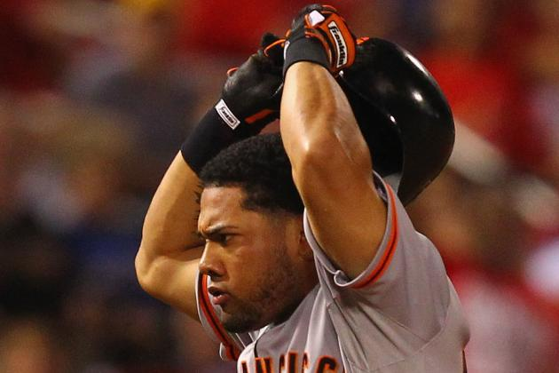Giants Reinstate Melky Cabrera to 40-Man, but He Won't Play in Postseason