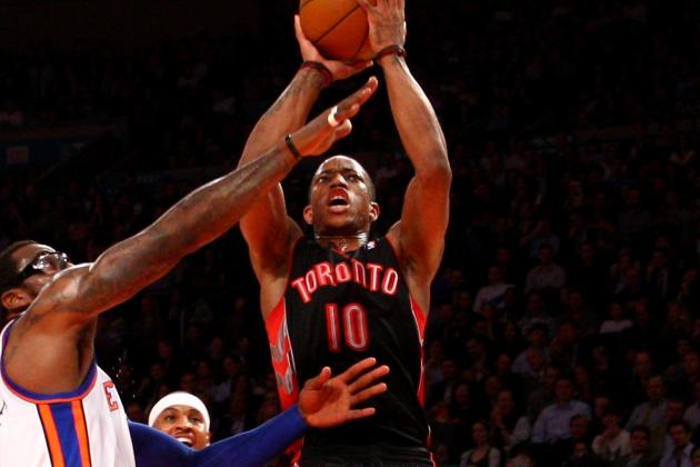 Toronto Raptors' DeMar DeRozan Maturing Nicely into Complete Player
