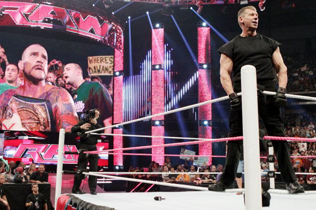 WWE: How Vince McMahon Stepped Up for His Company on RAW
