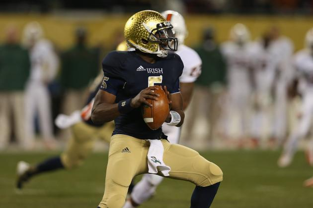 Stanford vs. Notre Dame: Irish Will Stay Undefeated with Win over Cardinal