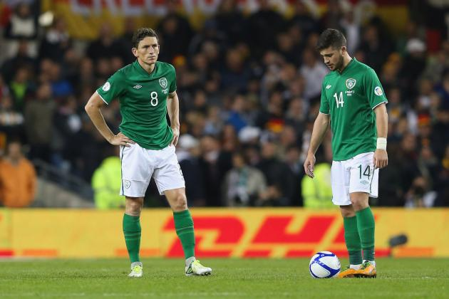 Ireland 'humiliated' After Germany Thrashing