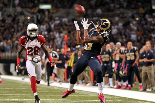 Fantasy Football Outlook for St. Louis Rams WRs After Danny Amendola's Injury