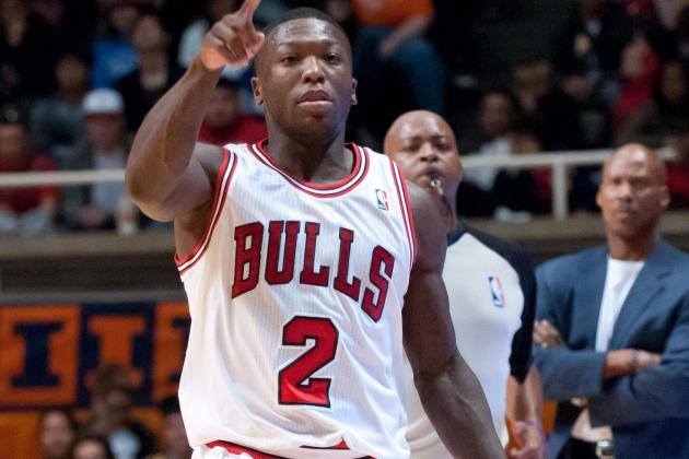 Nate Robinson Looks to 'Bring Energy' Coming Off Bulls' Bench