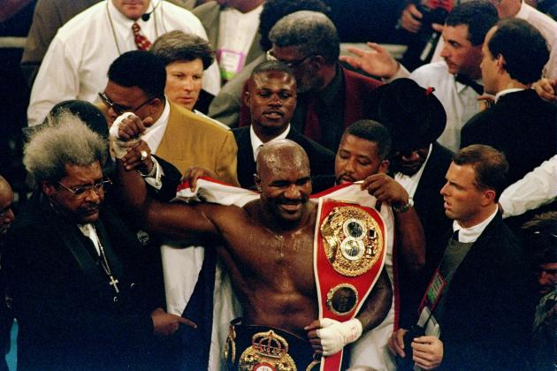 Evander Holyfield Finally Comes to His Senses, Sort Of, Admits End Is Near