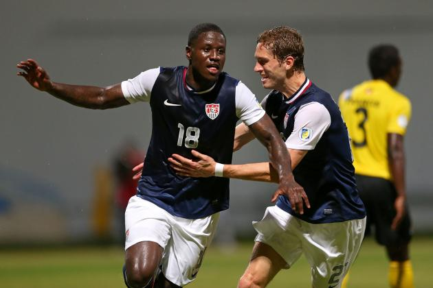 U.S. Scores in Stoppage Time to Escape Antigua