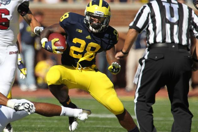 Michigan Football: Fitzgerald Toussaint Must Step Up for Wolverines to Shine