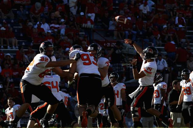 Oregon State vs. BYU: Why Loss of Sean Mannion Will Give Beavers First Loss