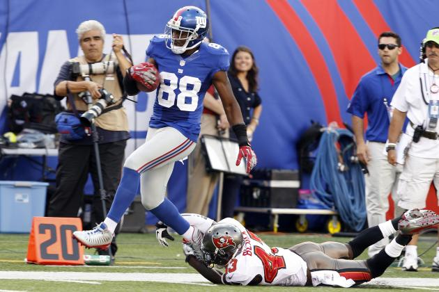 Hakeem Nicks: Underrated WRs Fantasy Owners Should Start over Hurt Giants Star