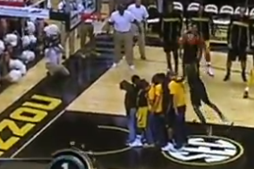 Best of Midnight Madness: Missouri's Keion Bell Leaps Six People for a Dunk
