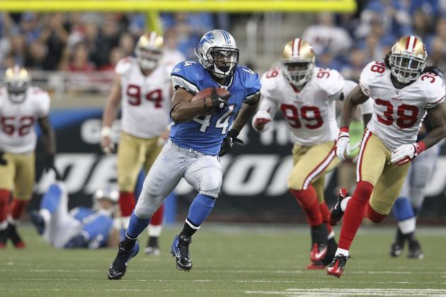 Jahvid Best: Lions Setting the Right Example in Handling RB's Concussion