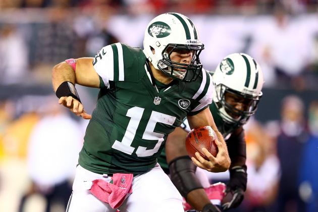 Tim Tebow: New York Jets Backup QB Set for Best Rushing Day of Season vs. Colts