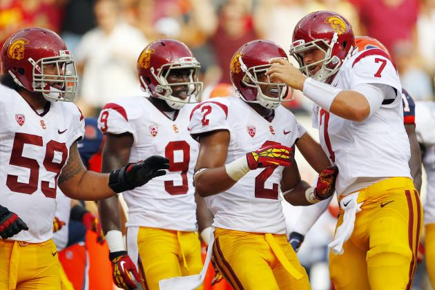 USC vs. Washington: Trojans Wide Receivers Too Good for Huskies Secondary