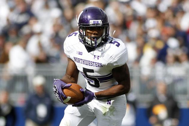 Bowl-eligible Northwestern runs past Minnesota