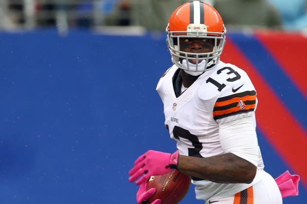 Josh Gordon: Browns' Decimated WR Corps Makes Rookie a Fantasy Spot Start
