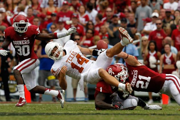 David Ash Injury: Updates on Texas Longhorns QB's Wrist