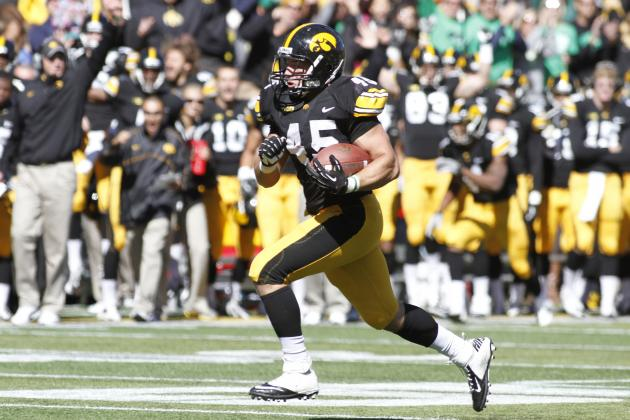 Mark Weisman Injury: Updates on Iowa RB's Ankle