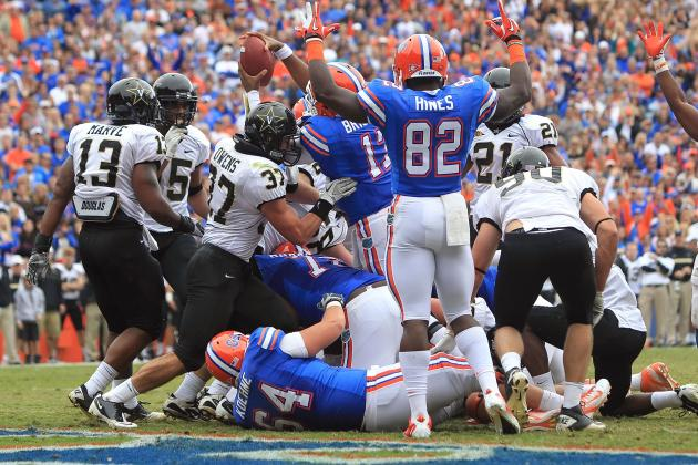Florida vs. Vanderbilt: Live Scores, Analysis and Results